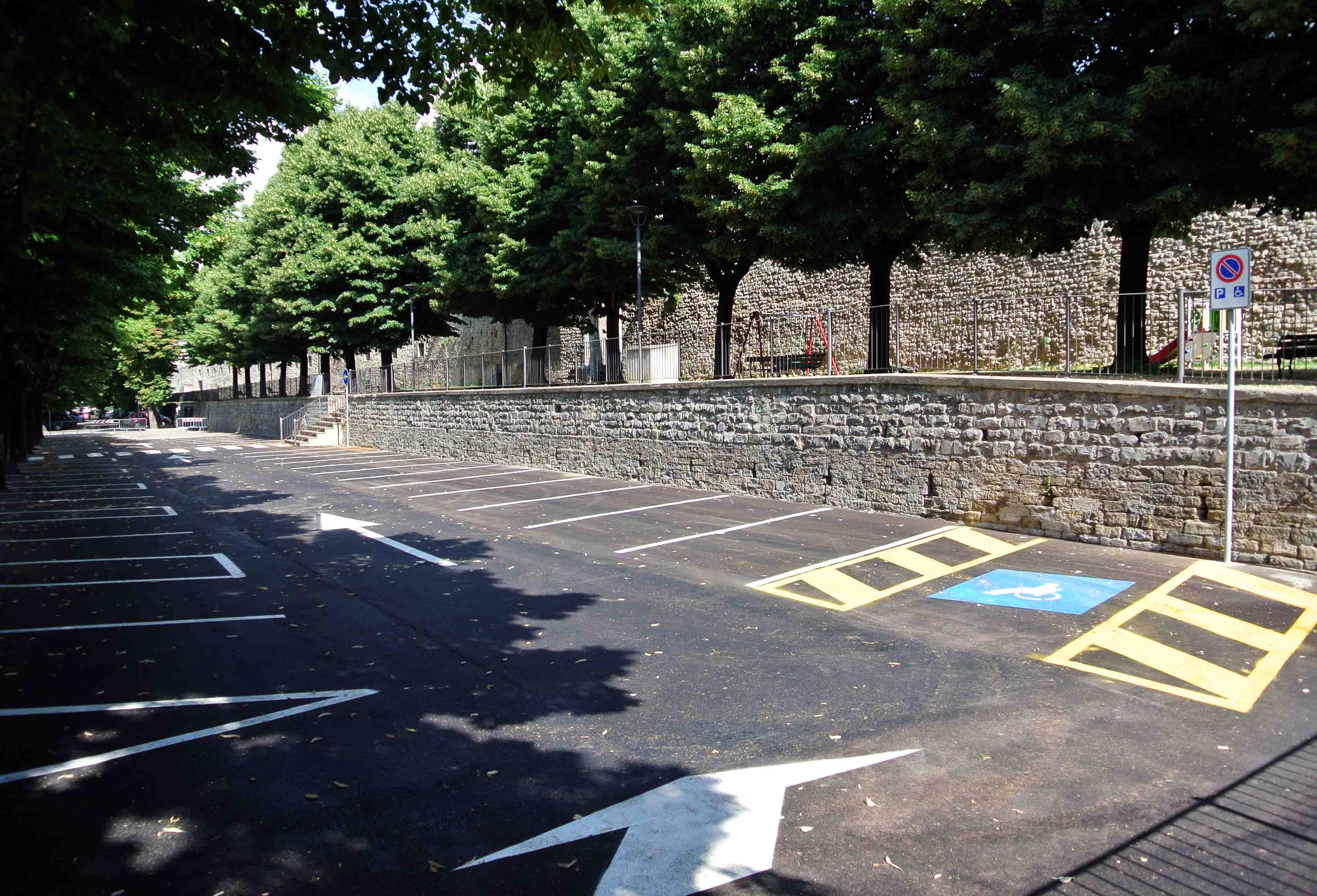 Parcheggio Frontoni